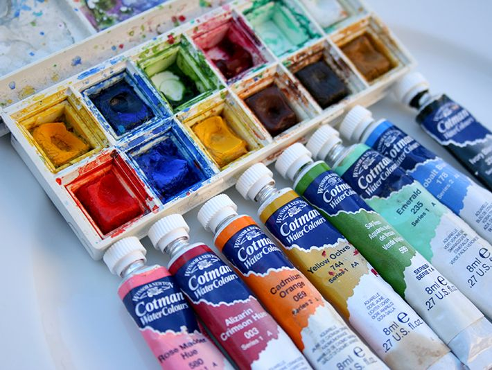 What S Better Watercolors In A Tube Or In A Pan Watercolor Pans