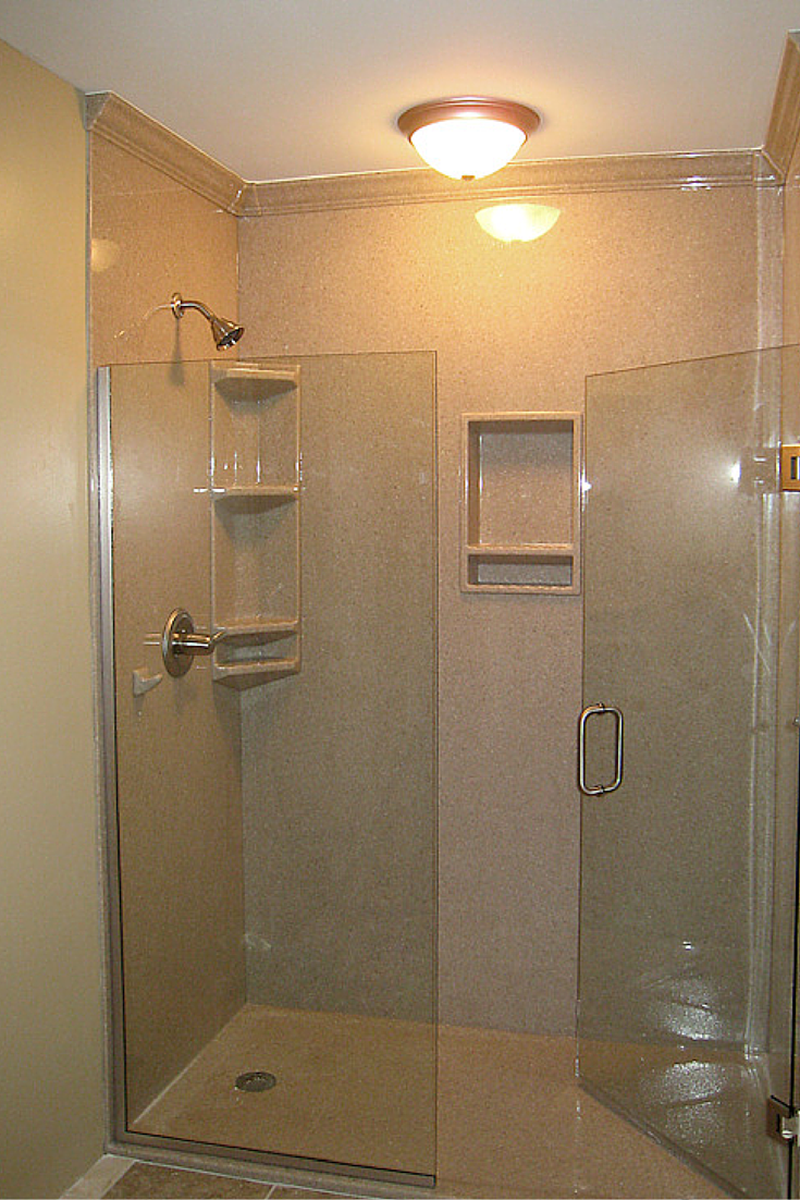 3 Steps To Add Trim And Borders To Diy Shower Wall Panels With