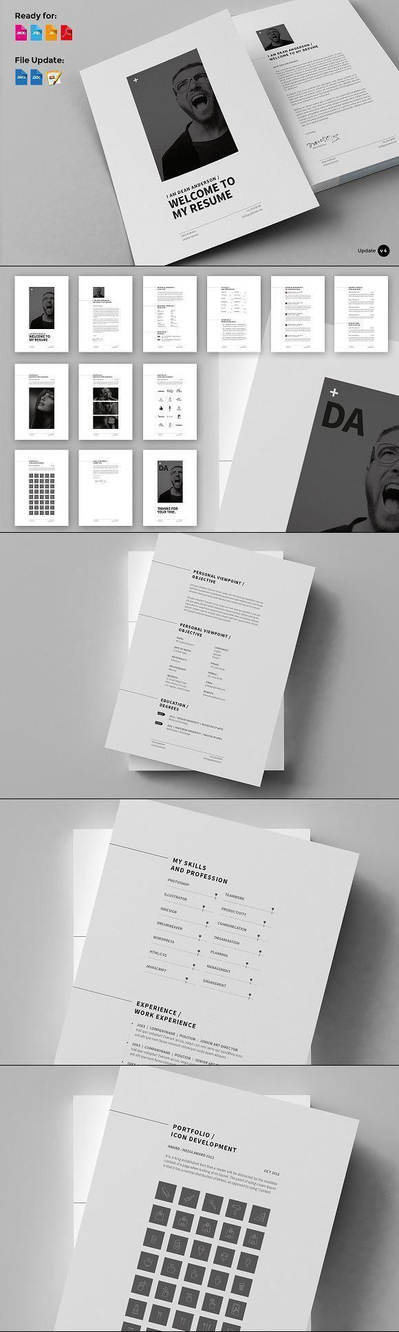 minimalist resume template word minimalist resume template