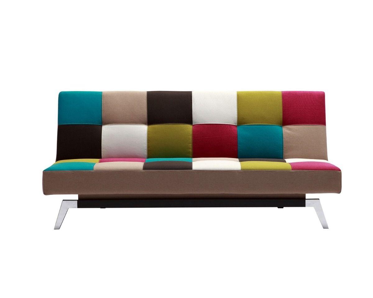 Sofa Cama Moderno De Colores Bodega De Muebles Decoraci N  # Muebles Segunda Mano Monterrey
