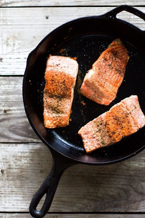 Cooking salmon on the stove is an easy method that will ...