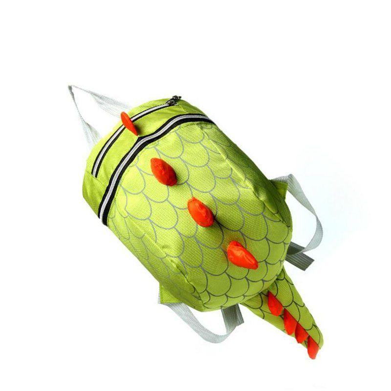 Cute Kids School Bag Kindergarten Girls Boys Backpack Bags Lovely Cartoon Dinosaur Nylon Baby Book