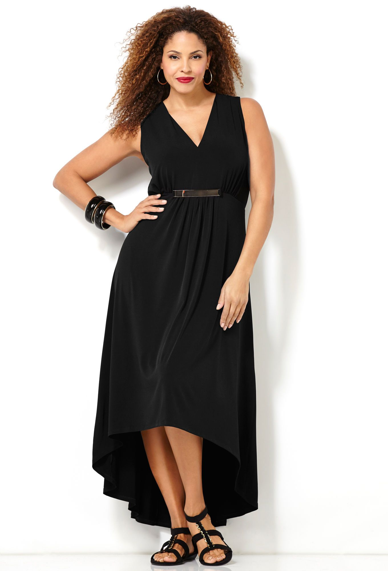 Shop Plus Size Perfect Black Dress | Avenue.com | Fav\'s | Pinterest ...