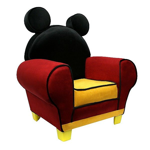 fauteuil mickey mouse - Fauteuil Mickey