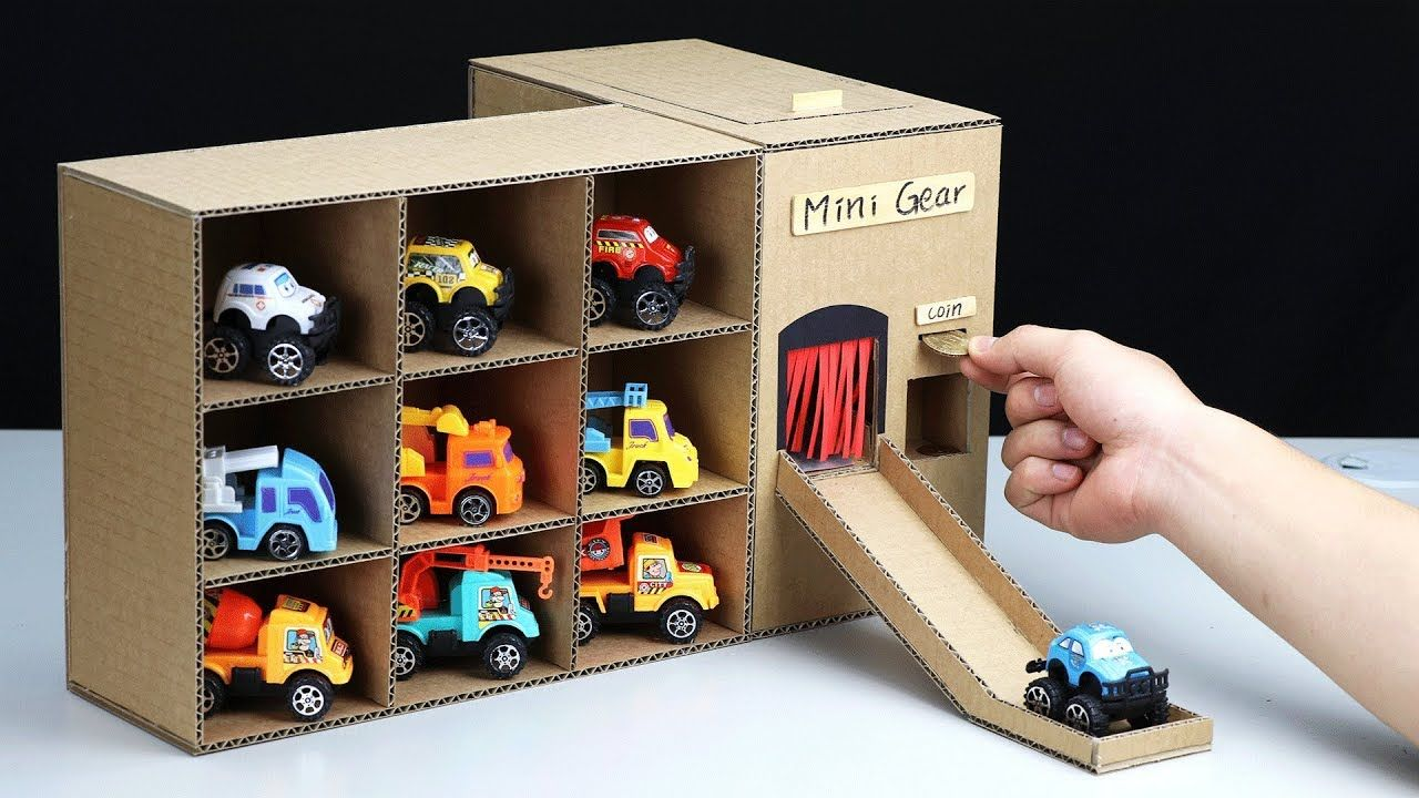 Wow! 3 Amazing Vending Machine with Toy Cars DIY