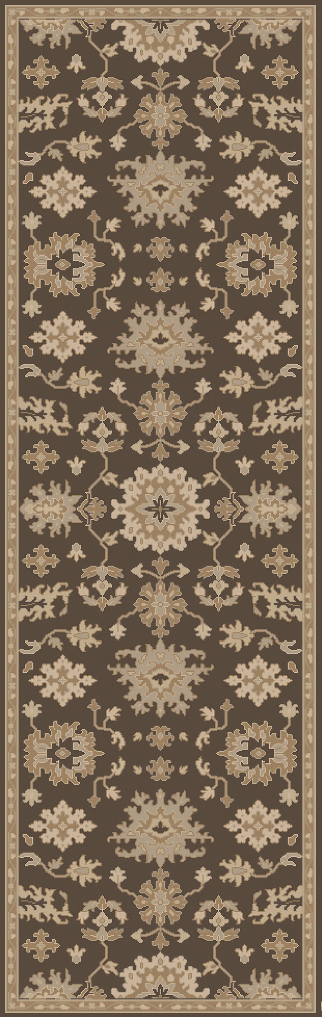 Willard Chocolate/Gray Area Rug