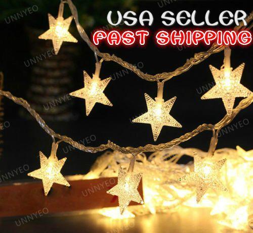 100/200/300 LED Christmas Tree Fairy String Party Lights Lamp Xmas