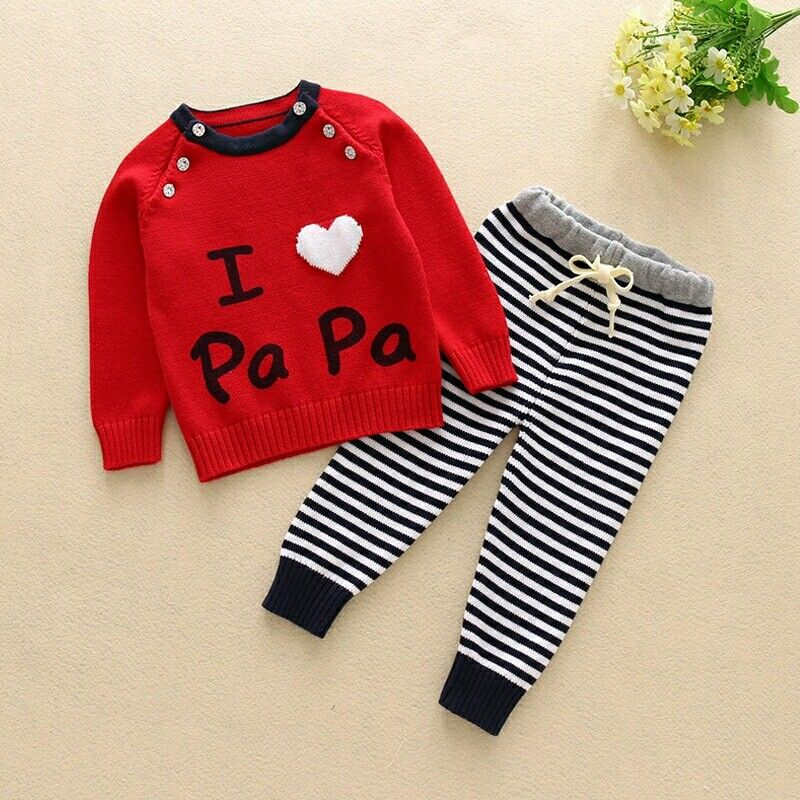 Baby Boy and Girl Autumn Set