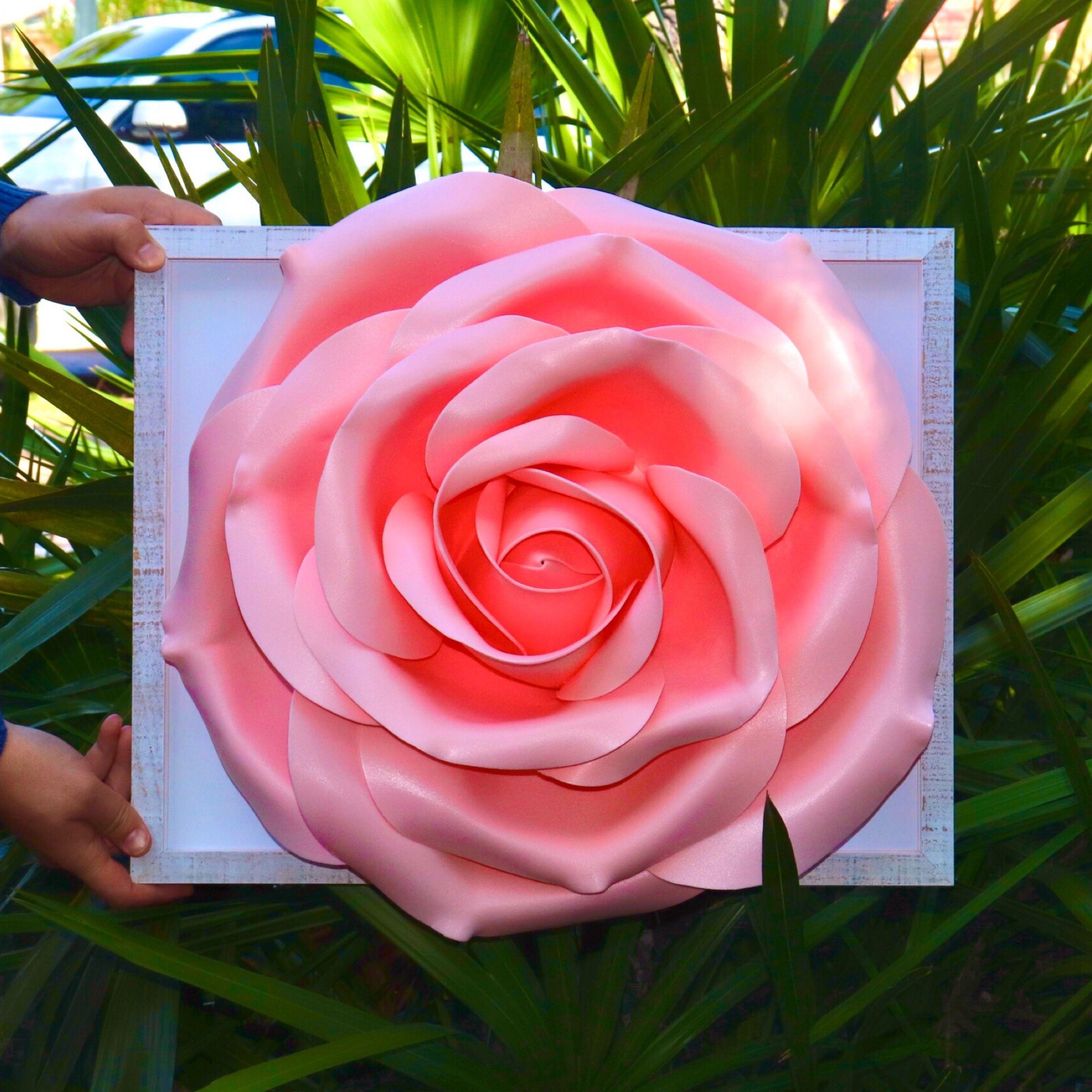 3d rose wall decor rose lamp 3d wall rose flower art
