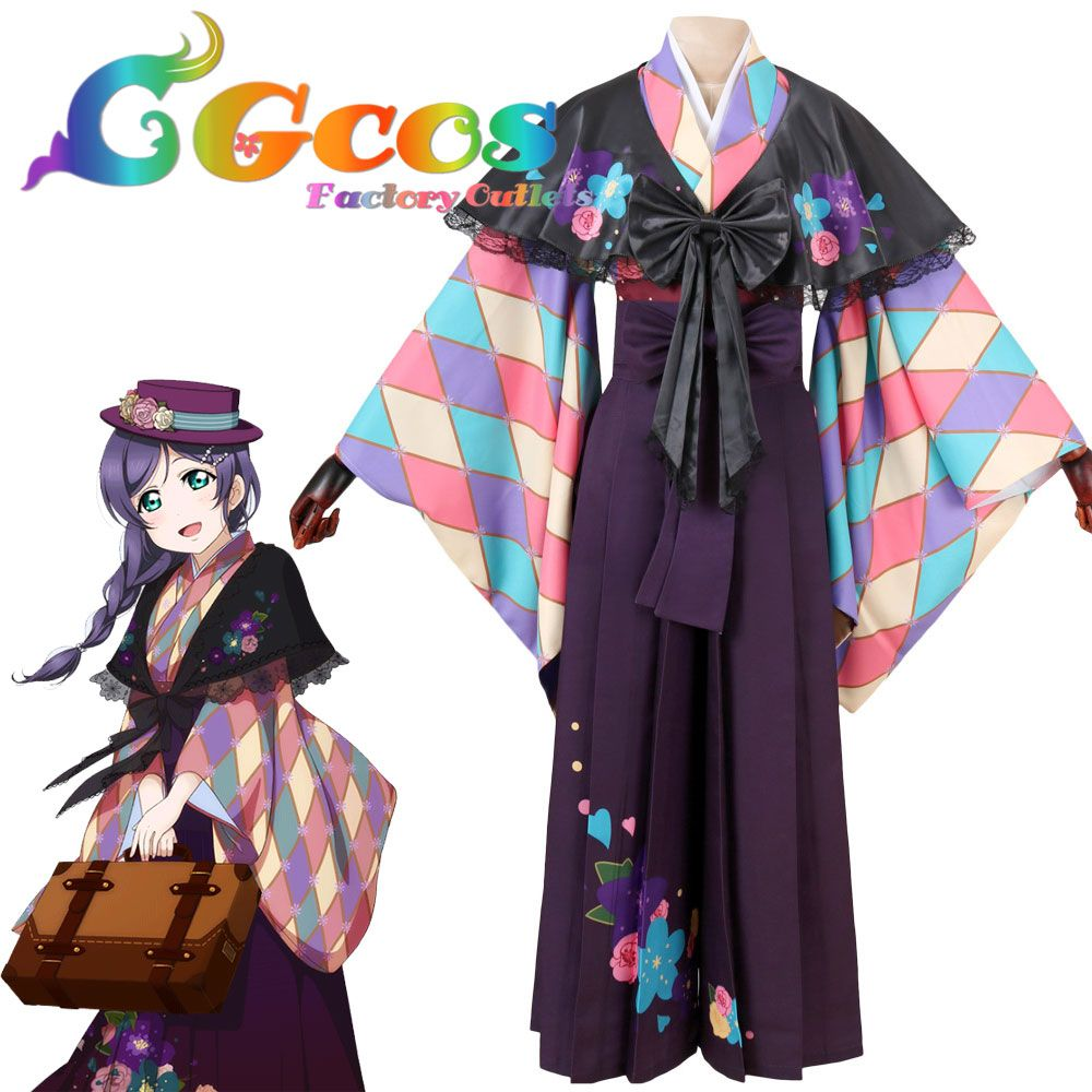 Click to Buy ucuc CGCOS Free Shipping Cosplay Costume Love Live Nozomi