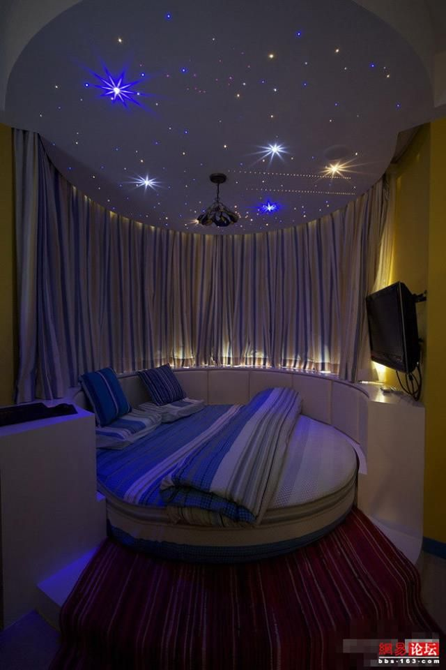 Iu0027ve Always Wanted A Round Bed And Stars On My Ceiling