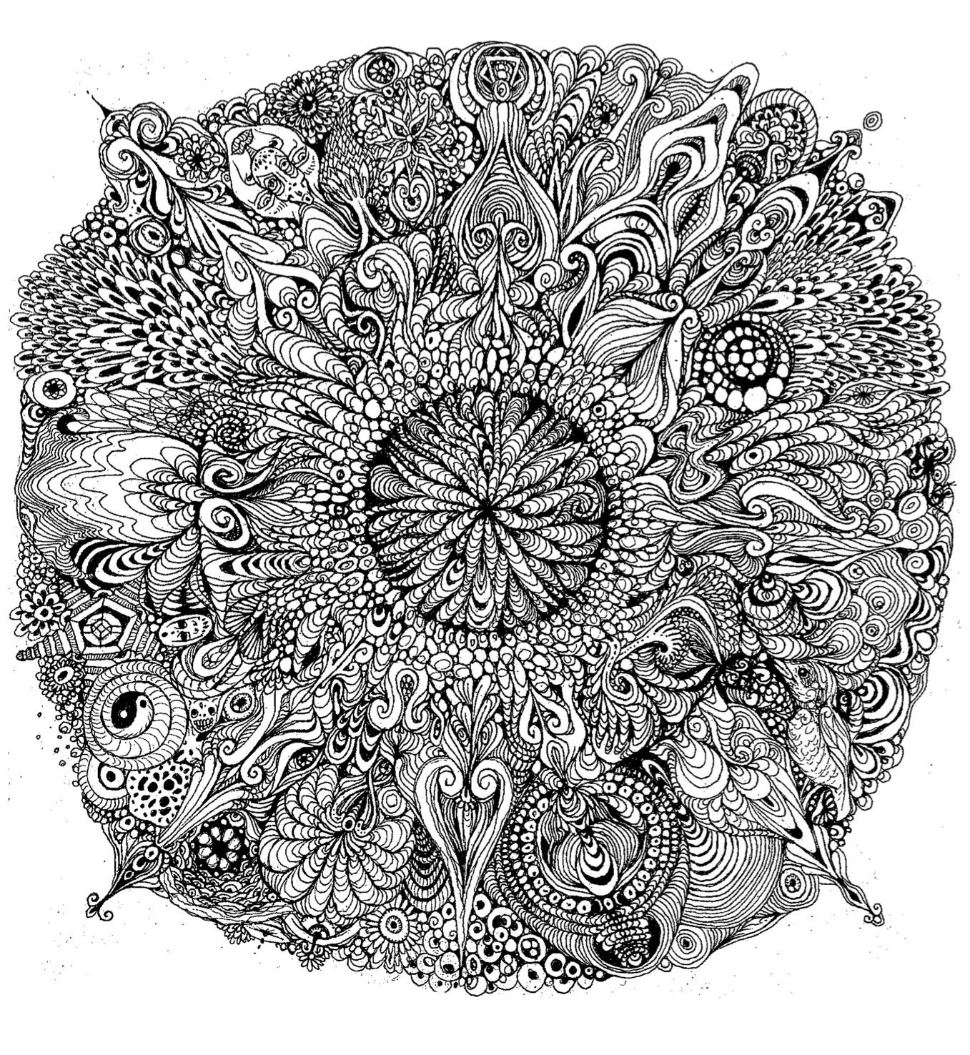Detailed mandala coloring pages - Coloring Pages Coloring Pages Mandalas To Color Free Printables Celtic Heart Mandala Coloring Pages Mandala Printable Coloring Pages Mandala Printable