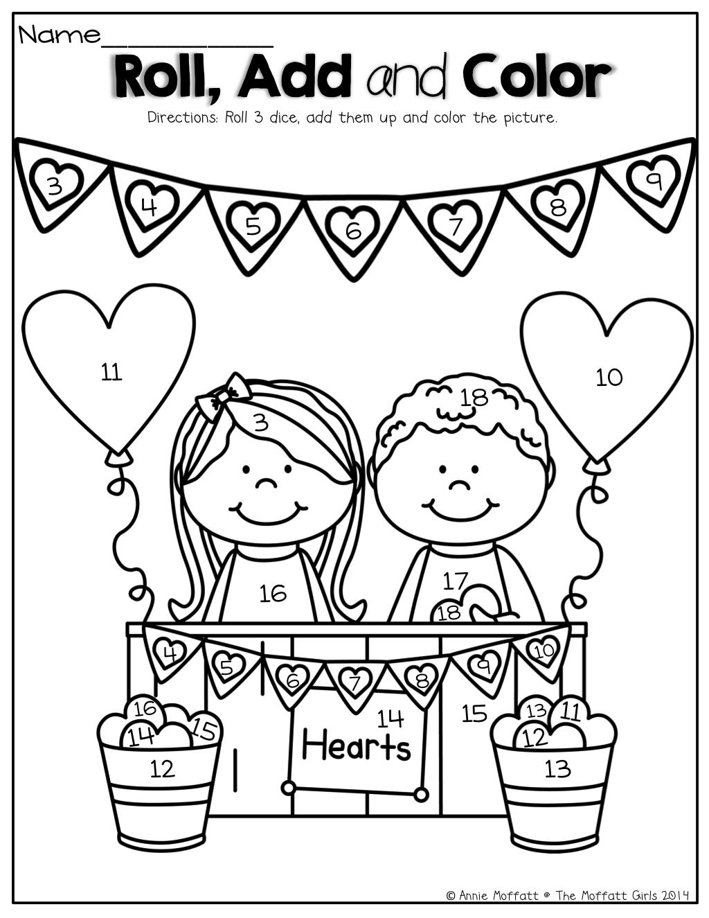 The Moffatt Girls Valentine No Prep Packets Kindergarten Valentines Kindergarten Fun Valentine Activities [ 1325 x 1024 Pixel ]