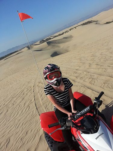 Things To Do In Pismo Beach Riding Atvs On The Oceano Dunes So Much Fun An Exhilarating Activity And Are Out Of This World