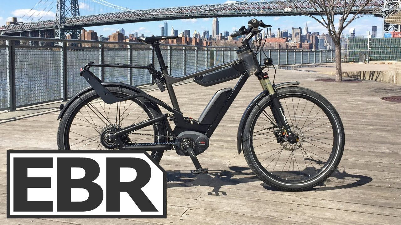 Riese Muller Delite Gt Nuvinci Hs Video Review High Speed Full Susp Future Transportation Electric Bike Full Suspension
