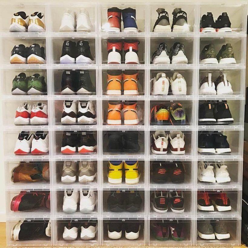 60 Ideen Und Tipps Wie Man Schuhe Organisiert Kleiderschrank Aufbewahrung Schuhaufbewarung Kleiderschrank