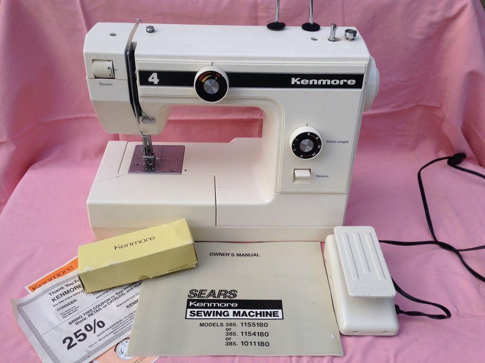 Sears Kenmore Free Arm Sewing Machine Model 4040 NICE used Awesome Kenmore Sewing Machine 385 Review