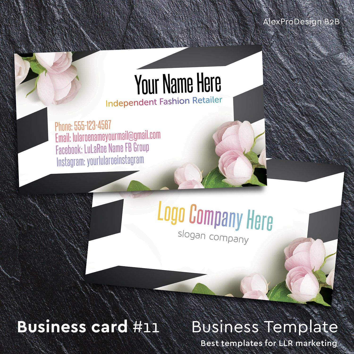 Llr business card custom business cards for fashion consultant llr business card custom business cards for fashion consultant retailer home office approved fonts color for lularoe ratailer card by on etsy reheart Choice Image