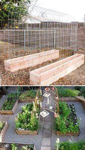 Photo of ✔45 Le migliori idee per l'orto del cortile #BackyardVegetableGardenDesig …