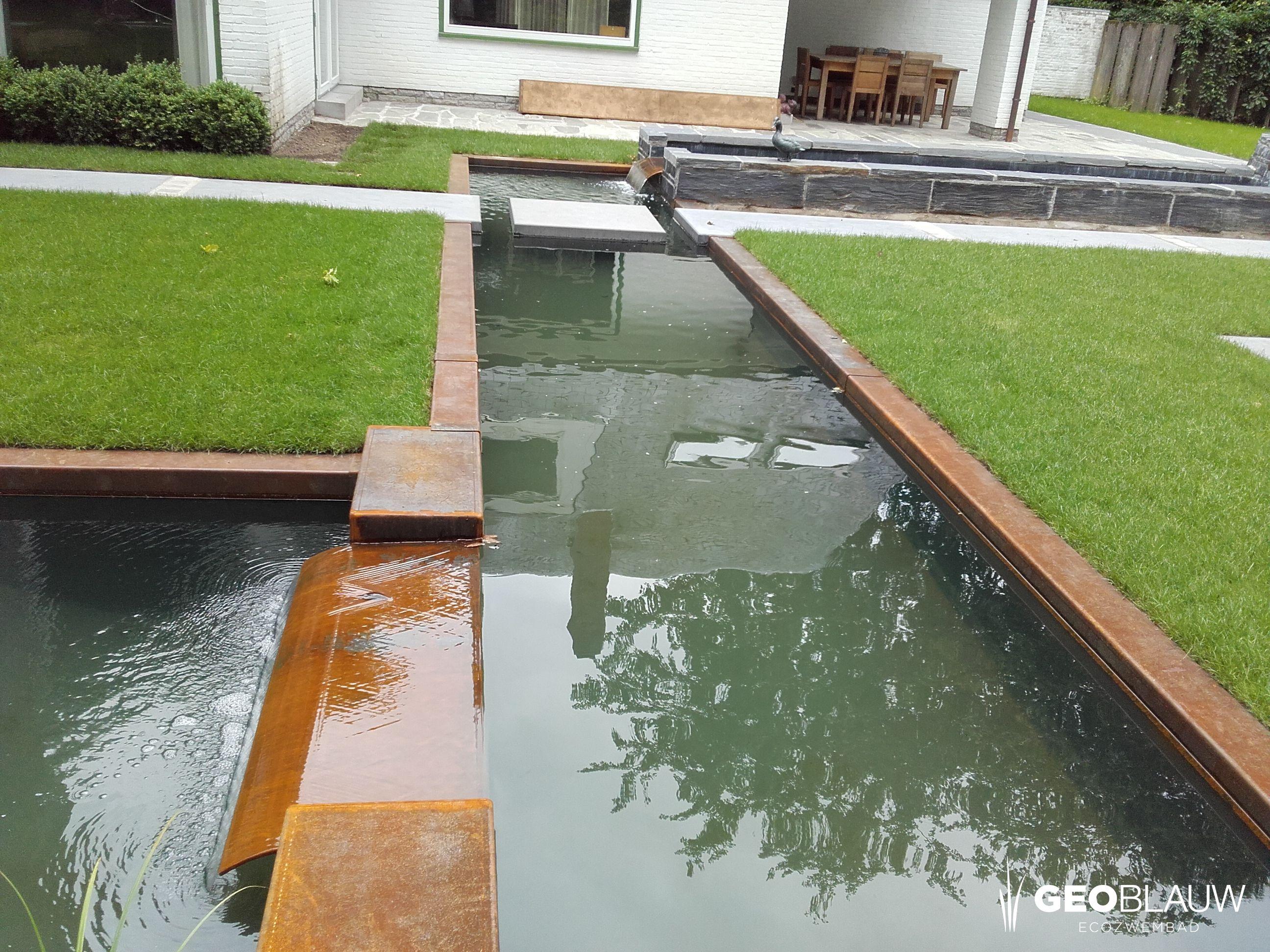 Pin Op Klein Water In De Tuin