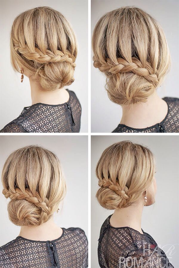 Lace Braided Bun