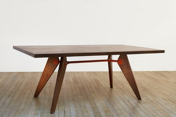 Jean Prouv La Table D Montable Tab 1 Pinterest Tables Modern Table And Wood Tables