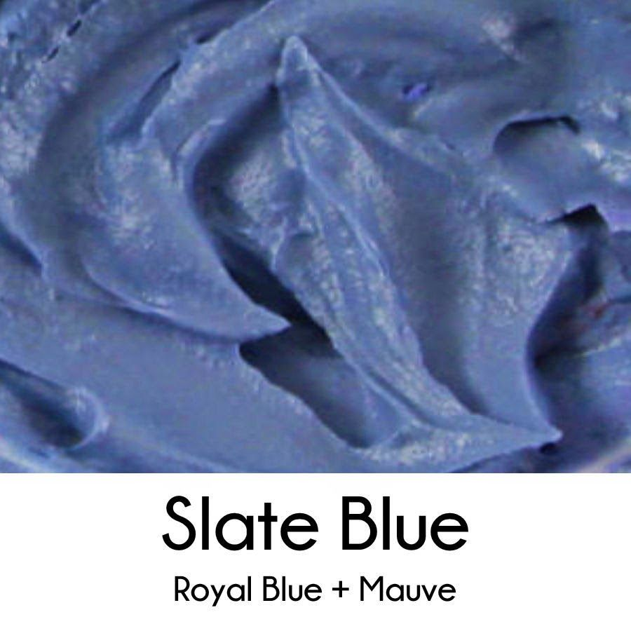 How to make slate blue royal icing royal icing color for The color slate blue