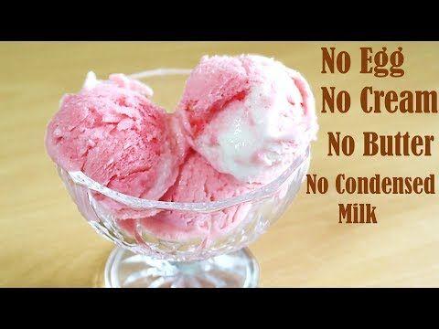 Vanilla sorbet recipe without ice cream maker