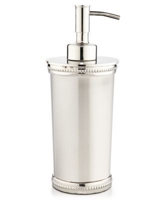 Martha Stewart Collection Beaded Metal Lotion Dispenser Only At