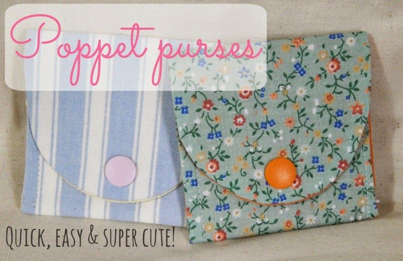 Emmaline Bags: Sewing Patterns and Purse Supplies: Poppet Purses - A ...
