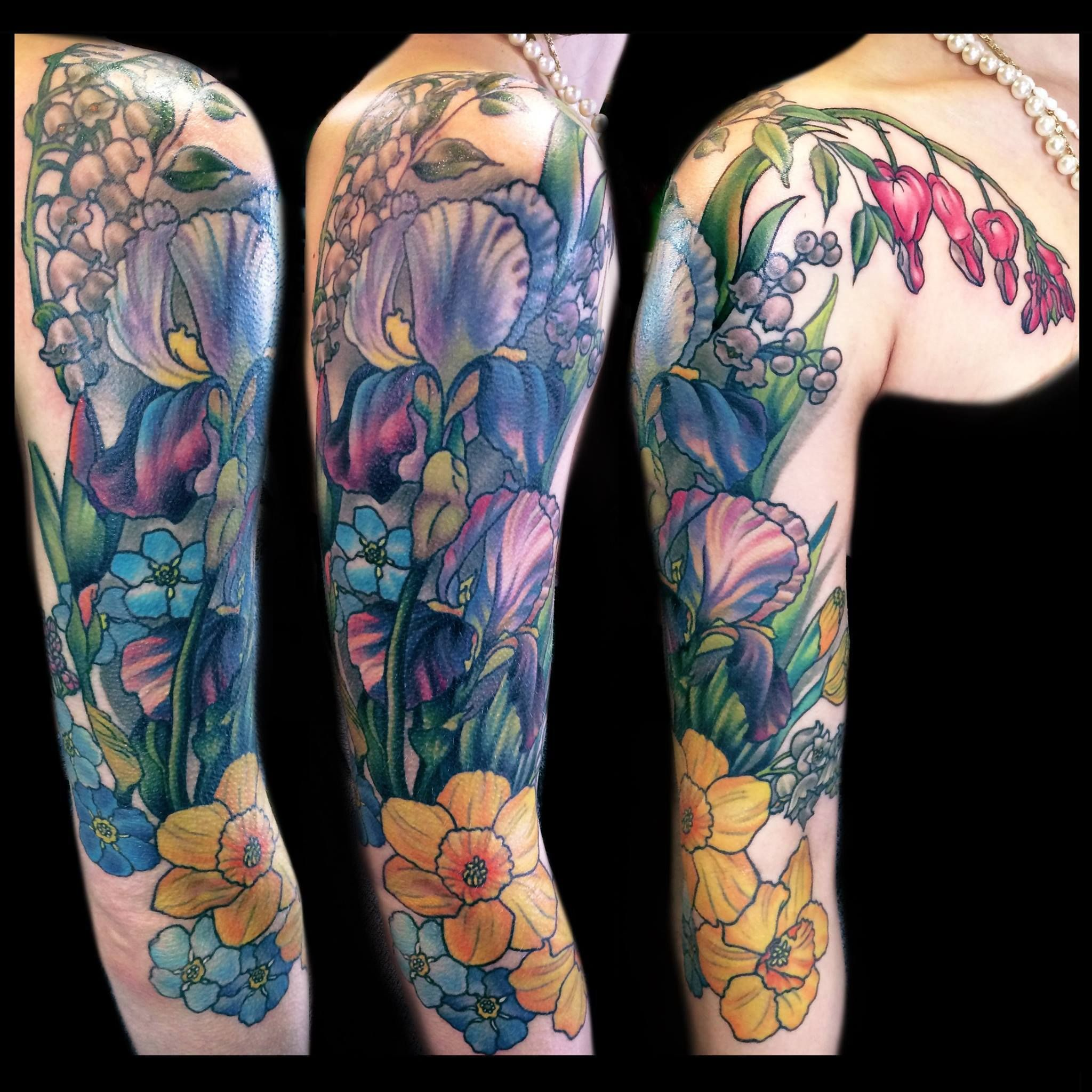 Fall fashion trends for women over 50 floral tattoo