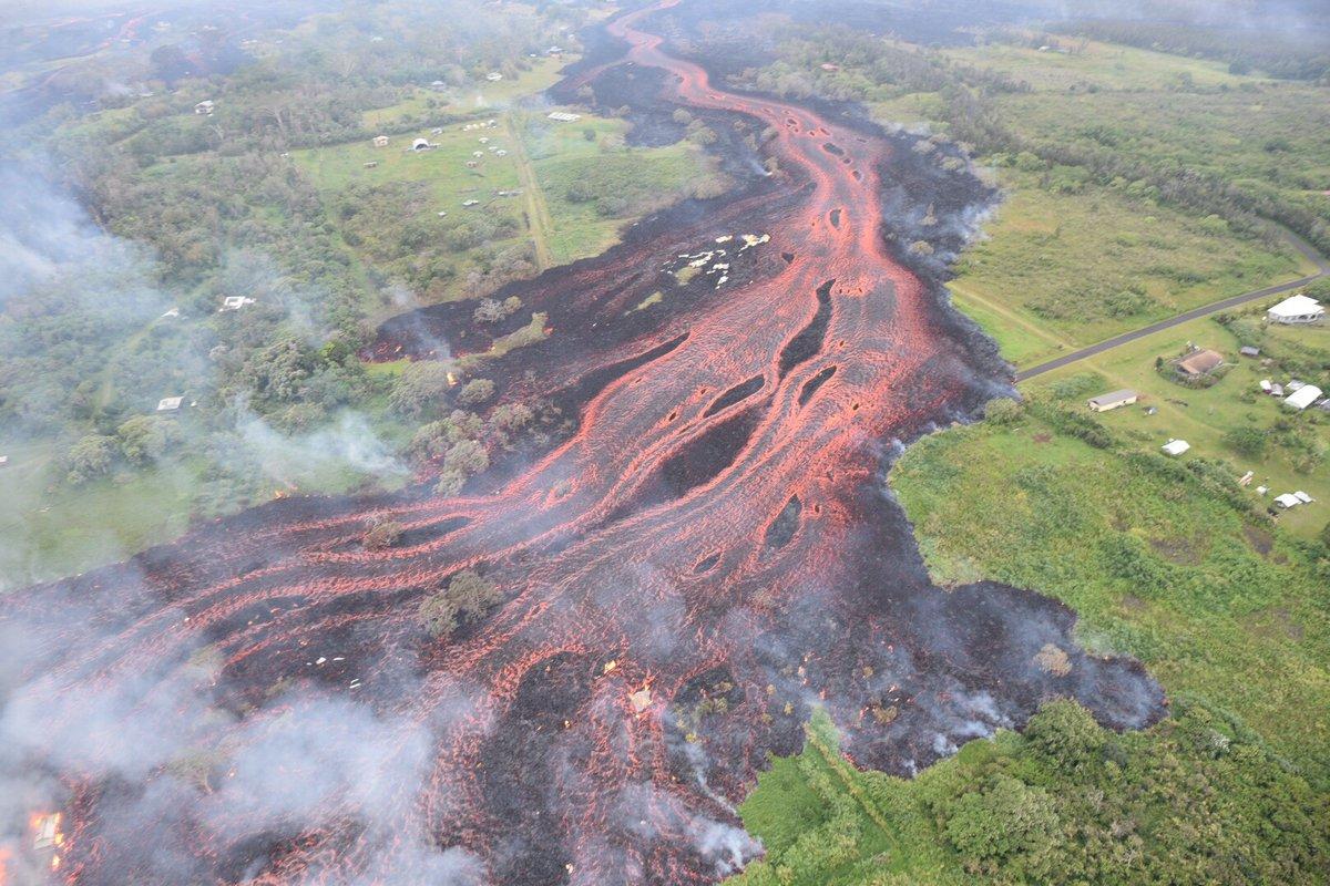 Hawaii Volcano Activity Prompts New Threats As Man