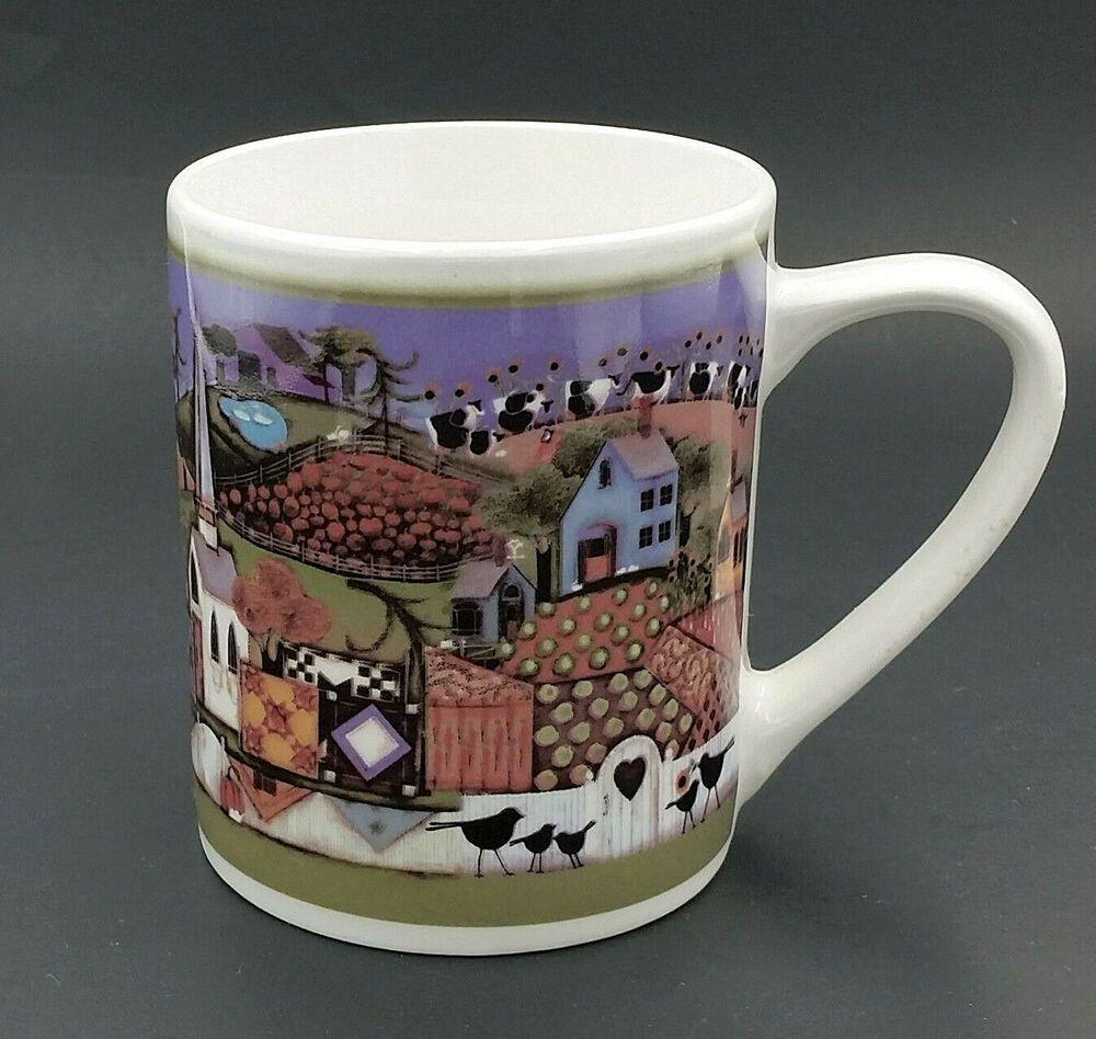Gibson American Harvest Country Farm Life Ceramic Coffee