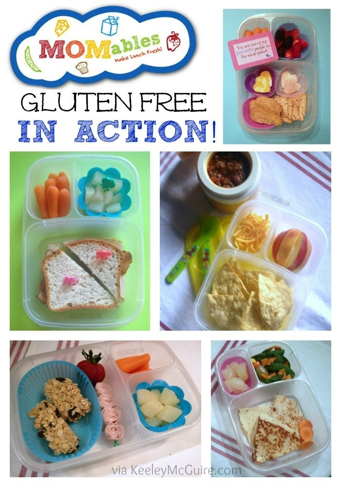 Lunch Made Easy: @Laura Fuentes/ MOMables.com Gluten Free School Lunches