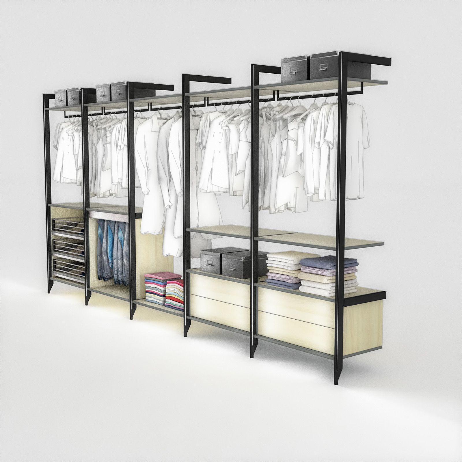 Stollenregal von Cabinet   Einbauschrank, Regalsystem, Schrank