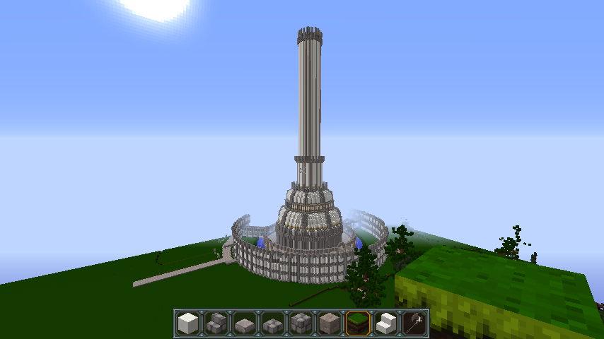 Pin By Landon Kennon On Bmb Minecraft Server Building Cn Tower Tower