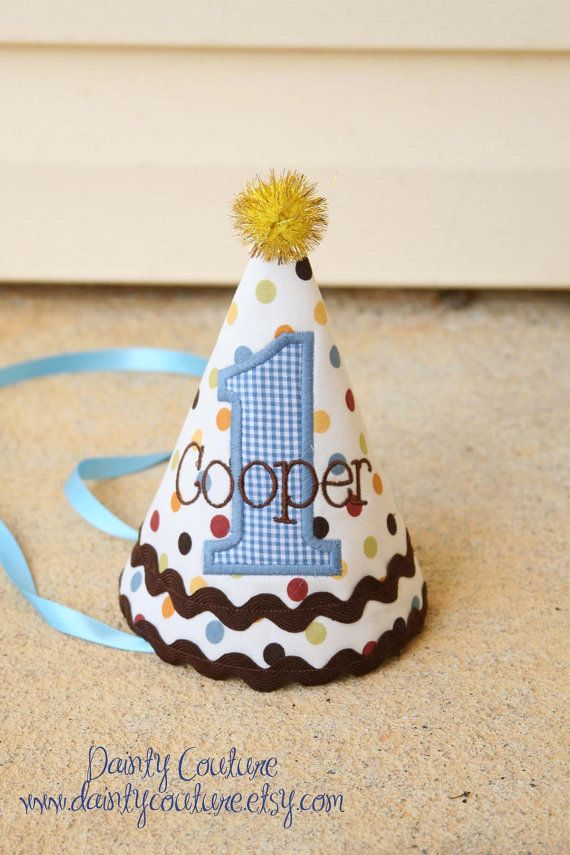 First Birthday Hat