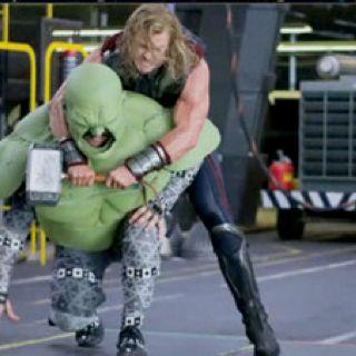How 'Avengers' Hulk scene was filmed.