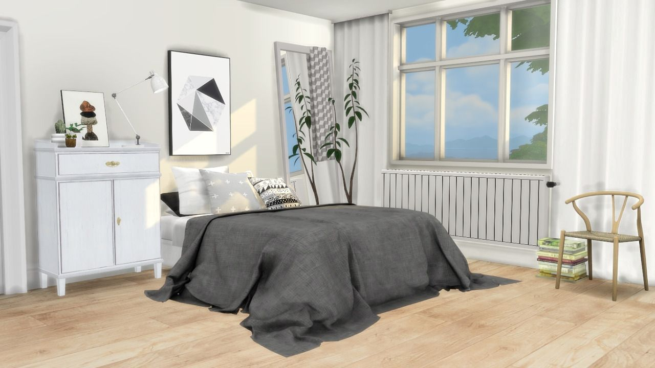 Mxims Bedroom 5 Updated Lauren Bed Frame Merged With