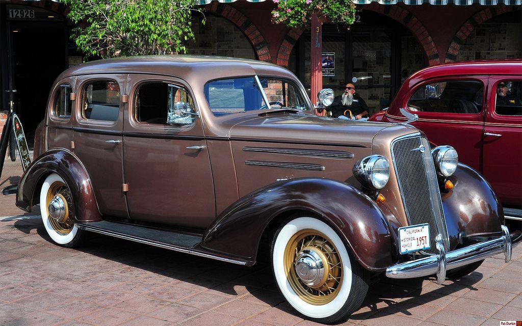 1935 Chevrolet Master Deluxe 4-door sedan - fvr | Olde Dude