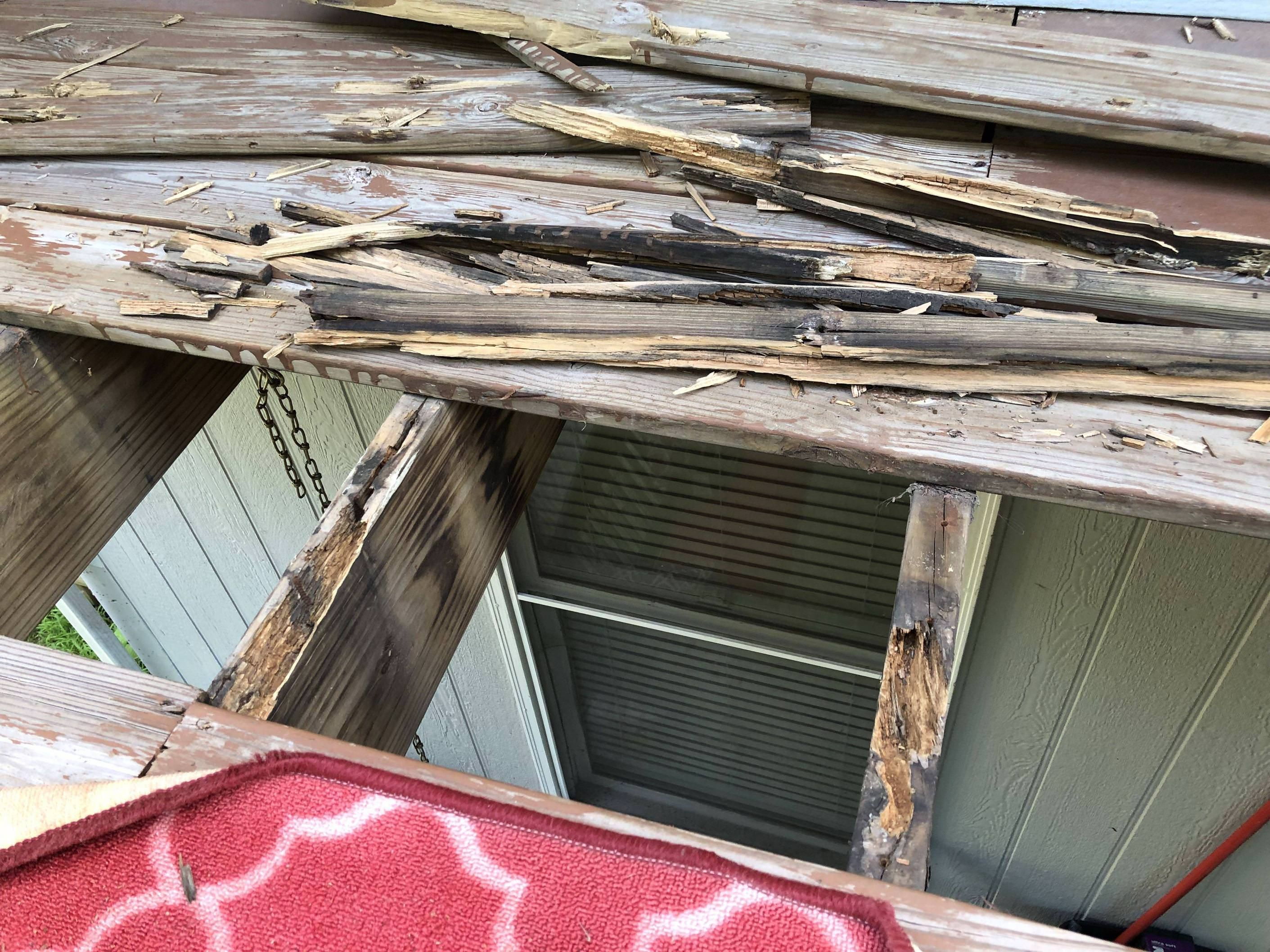 Rotting Floor Joists Do They Need To Be Replaced Or Would Sealing And Coupling To A Sister Joist Do The Trick Handmade Crafts Howto Flooring Diy Projects
