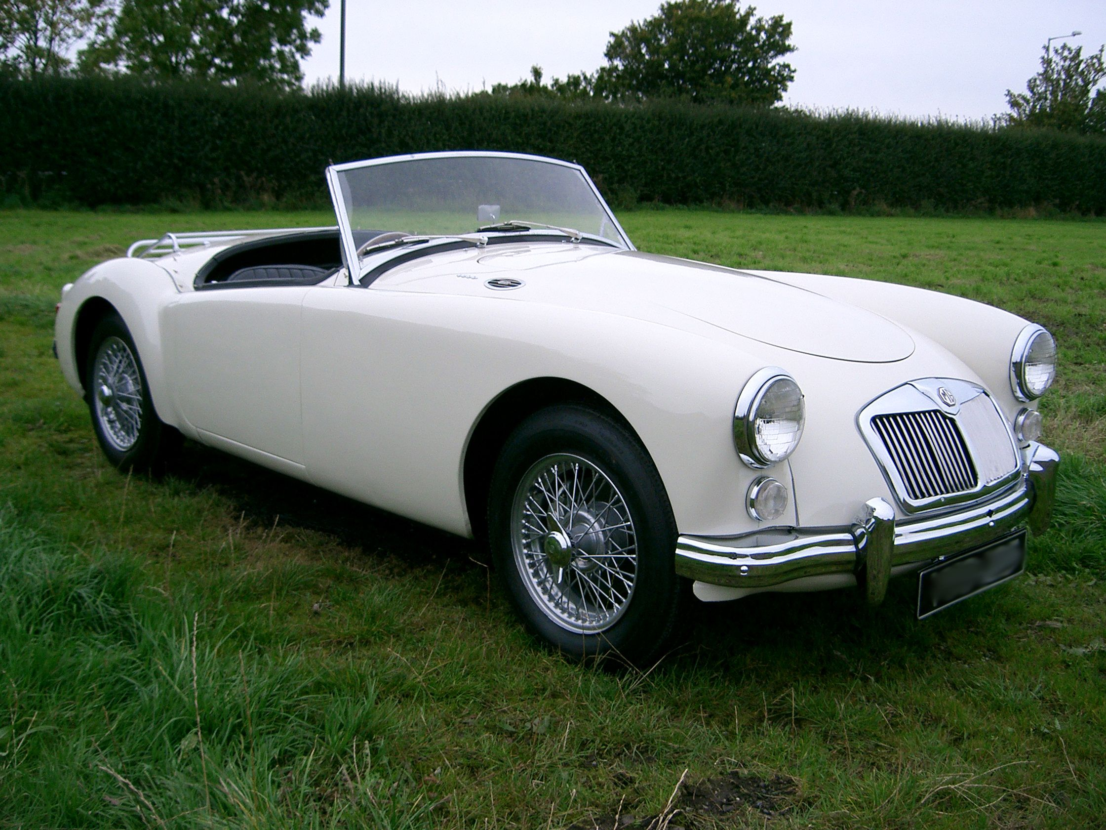 mga roadster. One of the most beautiful MG\'s ever produced ...