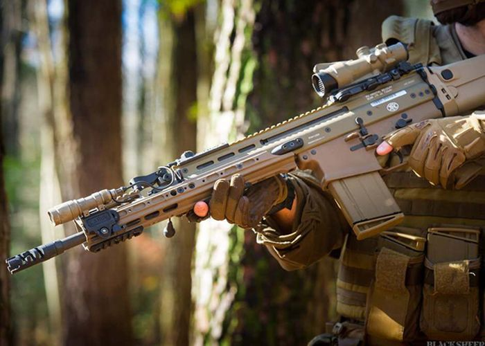 WGC Shop: PTS Kinetic SCAR Handguards | Arthur's Weapon | Guns