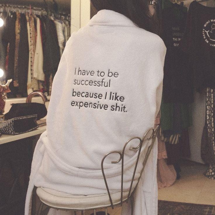 Expensive Shit Robe | Black friday shopping, Bar f