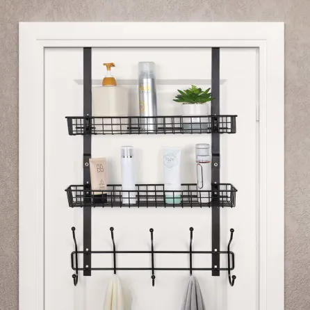 Over The Door Shoe Rack Used As Bathroom Storage Saw This On A Cruise Blog Need To Pick Dustan And I Up One Door Shoe Organizer Storage Locker Storage