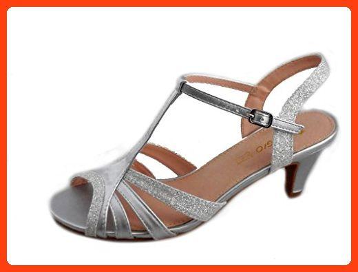 Damen Sandalen, beige - Beige - Größe: 39 Rebelde