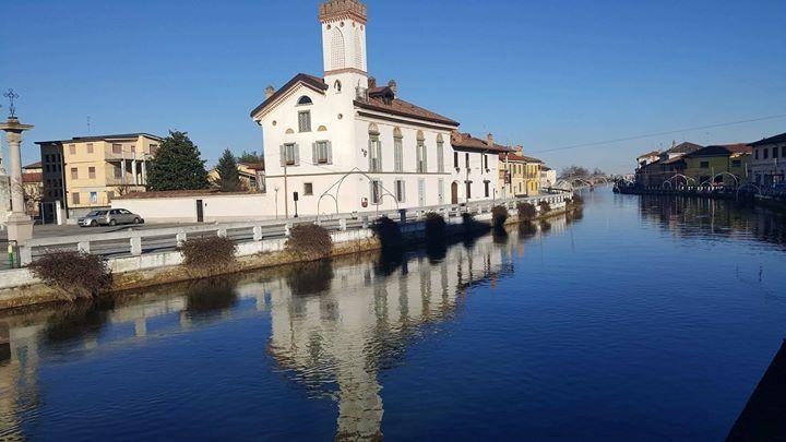 Buongiorno #Milano Oggi si parte da Gaggiano Foto di Emanuela Visto #milanodavedere Milano da Vedere
