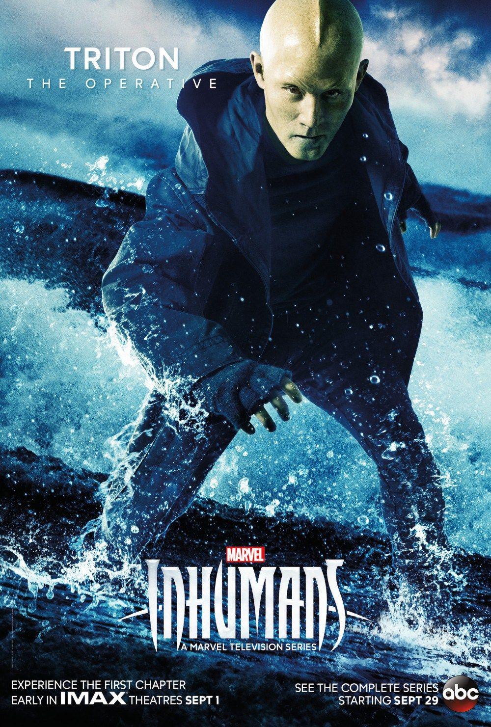 Marvel Inhumans Triton