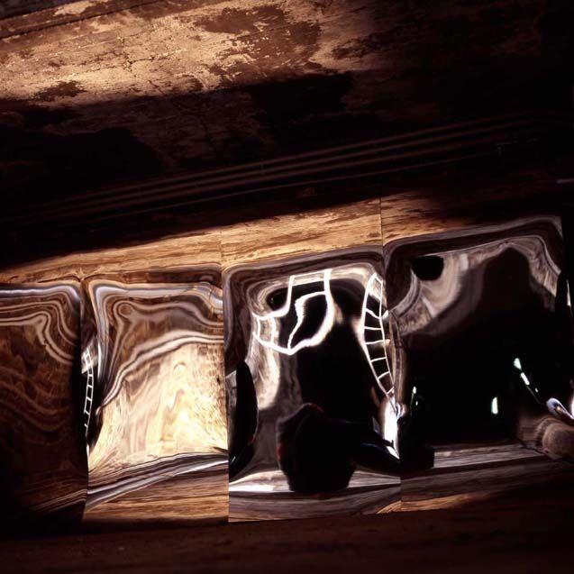 marc mer: das schönste an meinem bau aber..., 14032.3 abtei brauweiler bei köln 1999 copyright: marc mer | vg bild-kunst