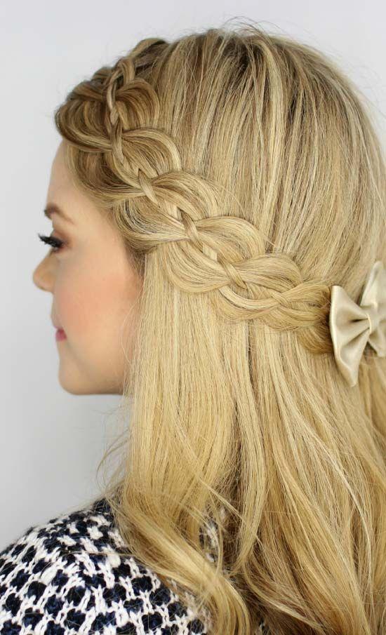 latest hair style for long hair | long hair style for women | Pinterest